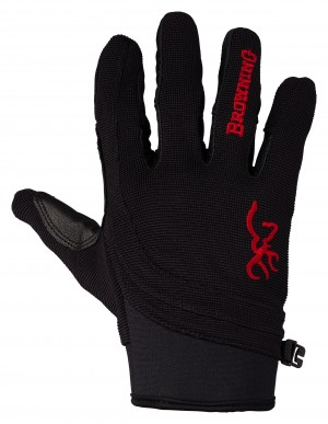 Browning Ace Shooting Glove L-Black/Red