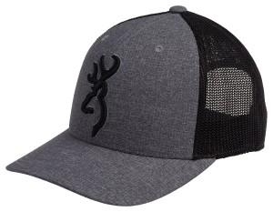 Browning Realm Hat Charcoal, Flex Fit