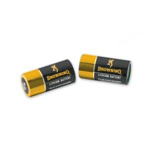 Browning CR123A Batteries 2 Pack