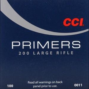 CCI 200 Large Rifle Primers - 100 Pk