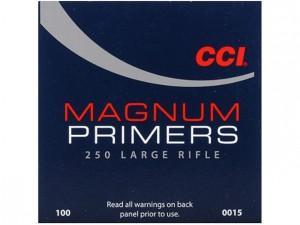 CCI 250 Large Rifle Mag Primers - 100 Pk