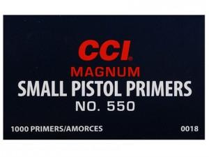 CCI 550 Small Pistol Mag Primers - 100 Pk