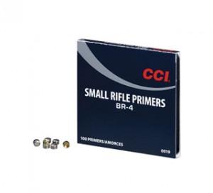 CCI BR-4 Small Rifle Primers - 100 Pk