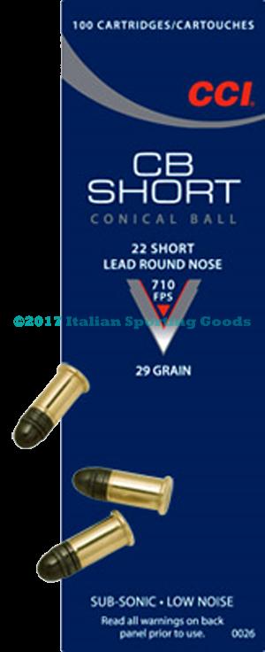 CCI 22 Short, 29 Gr LRN
