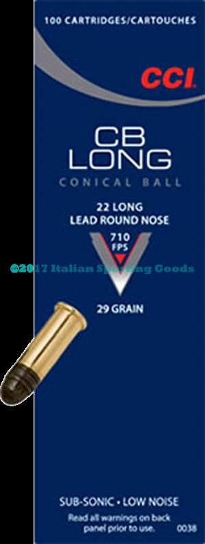 CCI 22 Long, 29 Gr LRN