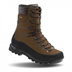 """Crispi Guide GTX Forest Non Insulated Nubuk Leather Gore-Tex 10"""" Brown 11 1/2 EE"""