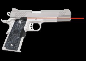 Crimson Trace Corp. Laser Grip 1911 Full Size G10 Black/Gray