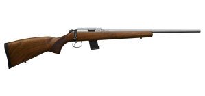CZ 455 Lux Wood Stainless