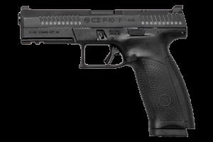 "CZ P-10F Full Size Black 9MM Luger, 4 1/2"" Barrel"