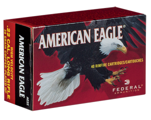 Federal 22 LR, 38 Gr CPHP Caselot