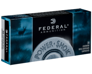 Federal 243 Win, 80 Gr Soft Point