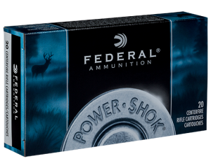 Federal 270 WSM, 130 Gr Soft Point
