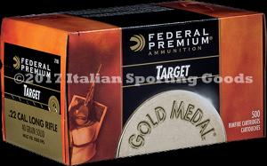 Federal 22 LR, 40 Gr Solid