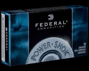 Federal 7MM Mauser, 140 Gr Hot Cor SP