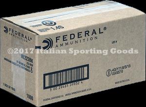 Federal 223 Rem, 55 Gr FMJ Boat Tail