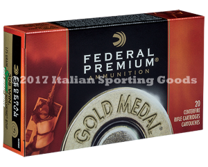 Federal 308 Win, 175 Gr S MKing BTHP