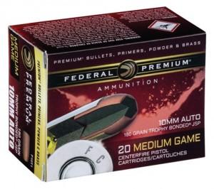 Federal 10MM Auto,180 Gr T Bonded JSP