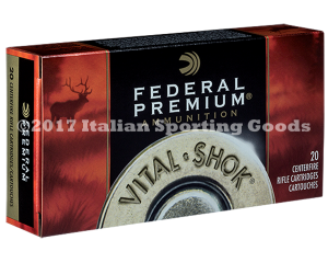 Federal 7MM-08 Rem, 140 Gr Nosler Par