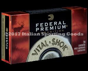 Federal 7MM Rem Mag, 165 Gr GKing BTSP
