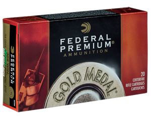 Federal 308 Win, 168 Gr S MKing BTail