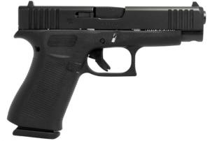 "Glock Glock 48 Black Fixed Sights 9MM Luger, 4 1/4"" Barrel"