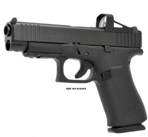 """Glock Glock 48 Black MOS Fixed Sights 9MM Luger, 4 1/4"""" Barrel"""