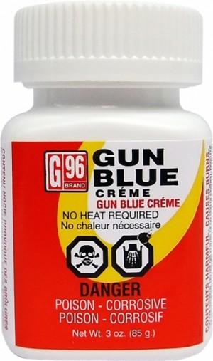 G96 Products Solid Gun Blue Creme, 3 Oz Bottle