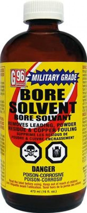 G96 Products Military Grade Bore Solvent