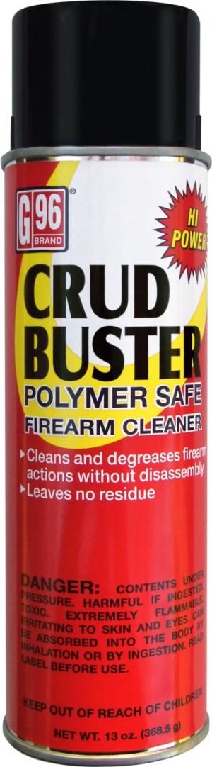 G96 Products Crud Buster Polymer Safe, 13 Oz Aerosol Spray Can