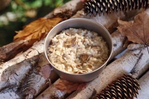 Happy Yak Cheese & Mushroom Risotto, 160 Grams- Less 1% Gluten