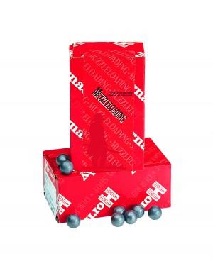"Hornady 50 Cal .495"" Lead Round Balls, Muzzleloading / 100 Box"