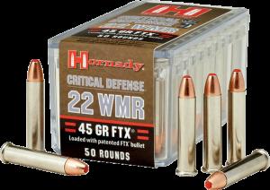 Hornady 22 Win Mag, 45 Gr FTX