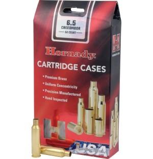Hornady 6.5 Creedmoor Shell Cases, Unprimed Brass / 50 Box