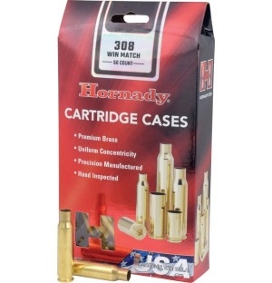 Hornady 308 Win Match Shell Cases