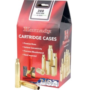 Hornady 300 Win Mag Shell Cases