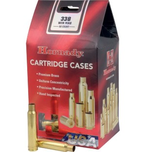 Hornady 338 Win Mag Shell Cases