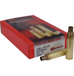 Hornady 338 Lapua Shell Cases, Unprimed Brass / 20 Box
