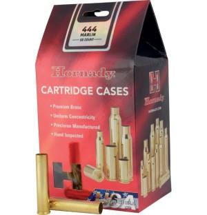 Hornady 444 Marlin Shell Cases, Unprimed Brass / 50 Box