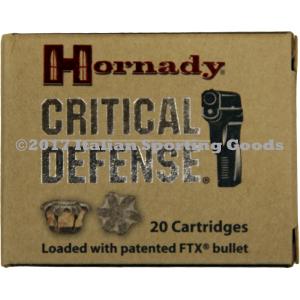 Hornady 40 S&W, 165 Gr FTX