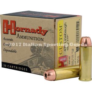 Hornady 475 Linebaugh, 400 Gr XTP