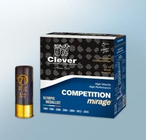 "Clever Mirage 12 Ga, 2 3/4"" 1 1/8 Oz #8"