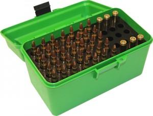 MTM Case-Gard 50 Rd Handled Rifle Flip Top