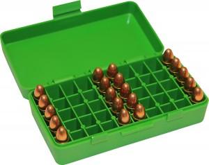 MTM Case-Gard 50 Rd Pistol Flip Top 9MM/380