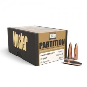 """Nosler Bullets 6MM 95 Gr Spitzer .243"""""""