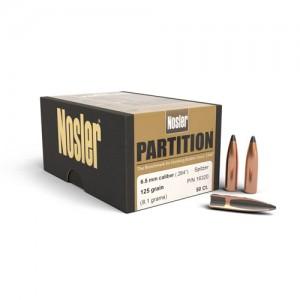"""Nosler Bullets 6.5MM 125 Gr Spitzer .264"""""""