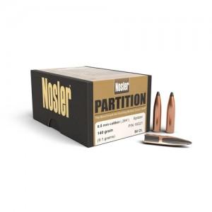 """Nosler Bullets 6.5MM 140 Gr Spitzer .264"""""""