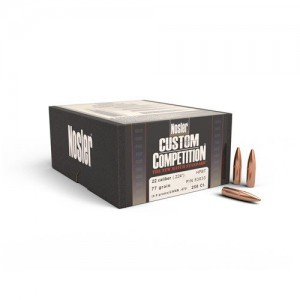 "Nosler Bullets 22 Cal 77 Gr  HPBT .224"""