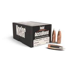 """Nosler Bullets 9.3MM Cal 250 Gr Spitzer .366"""""""