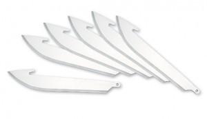 "Outdoor Edge Razor-Safe Replacement 3"" Blades 6 Pk"