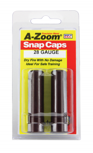 A-Zoom 28 Ga Shotgun Snap Caps 2P/Pk